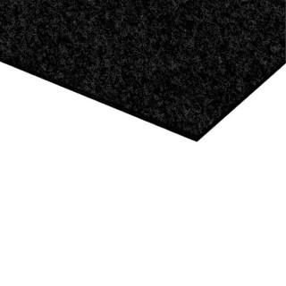 Ковровое покрытие самоклеящееся черное 177
